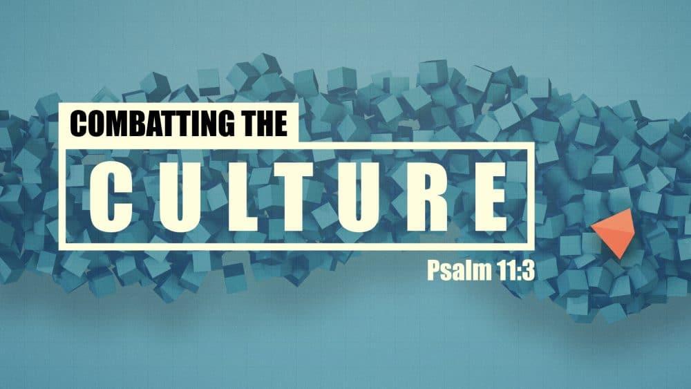 Combatting the Culture