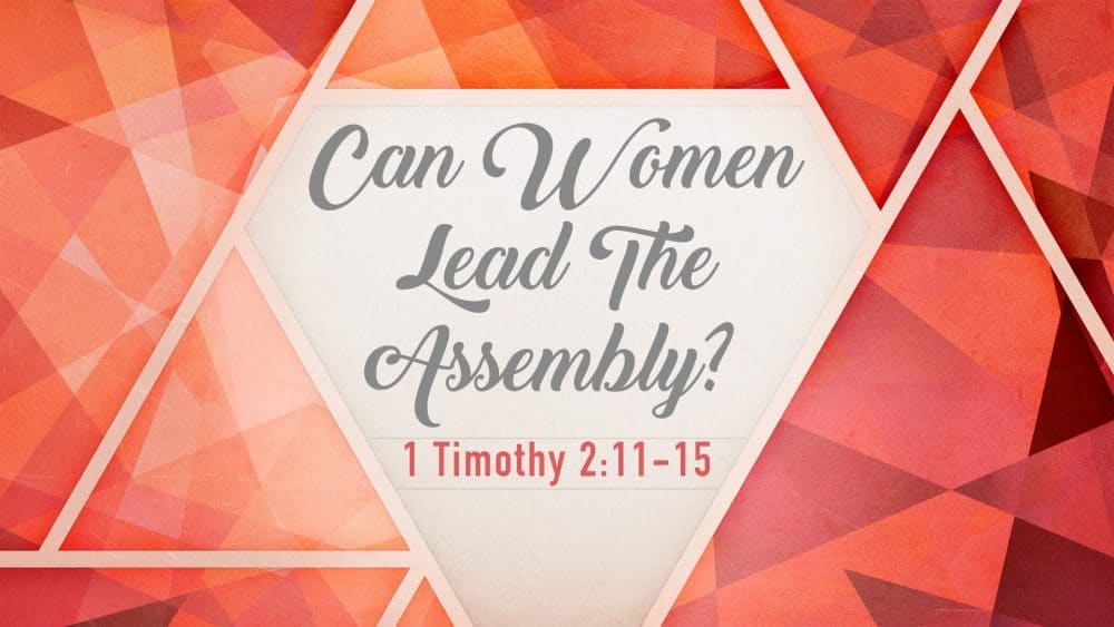 Can Women Lead The Assembly? Image