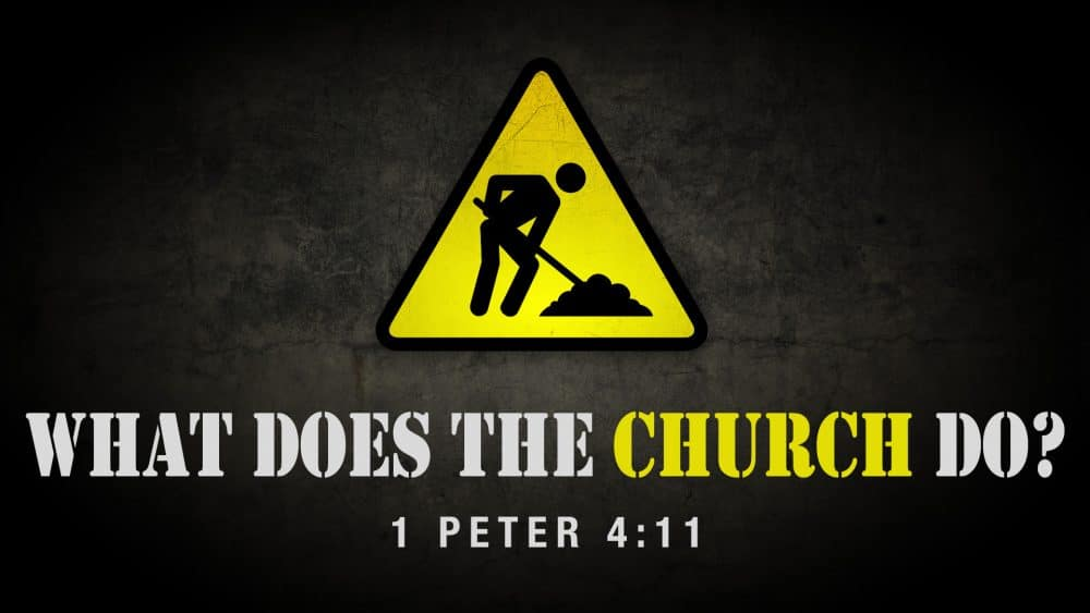 What Does the Church Do? Image