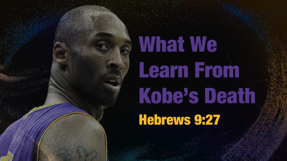 What We Learn From Kobe's Death Image