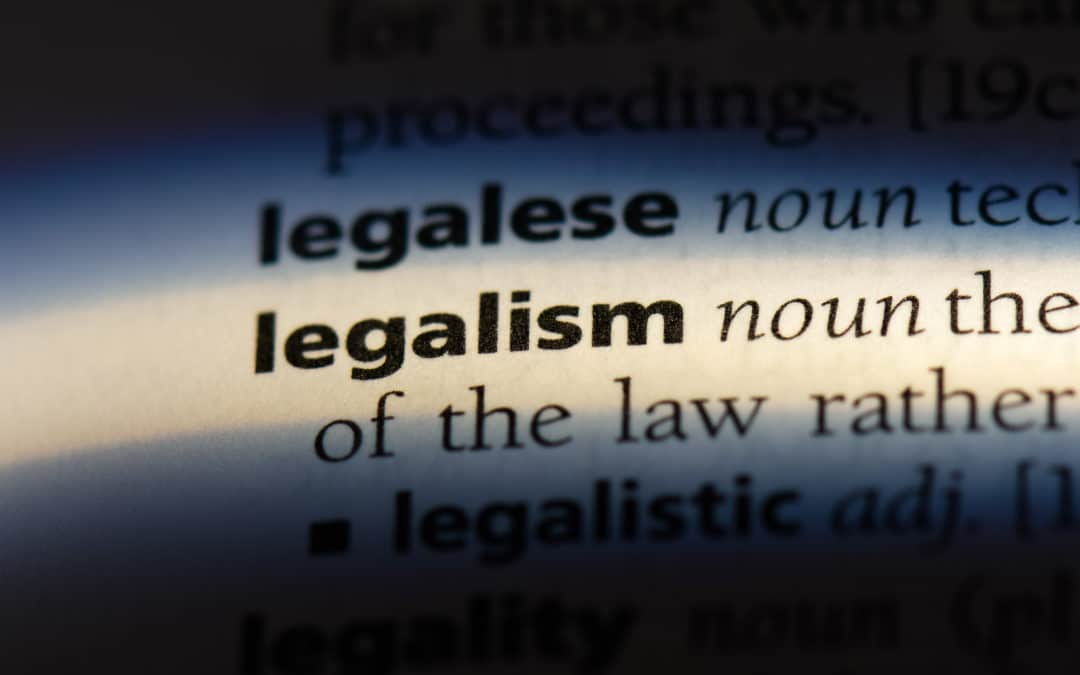 Love or Legalism?