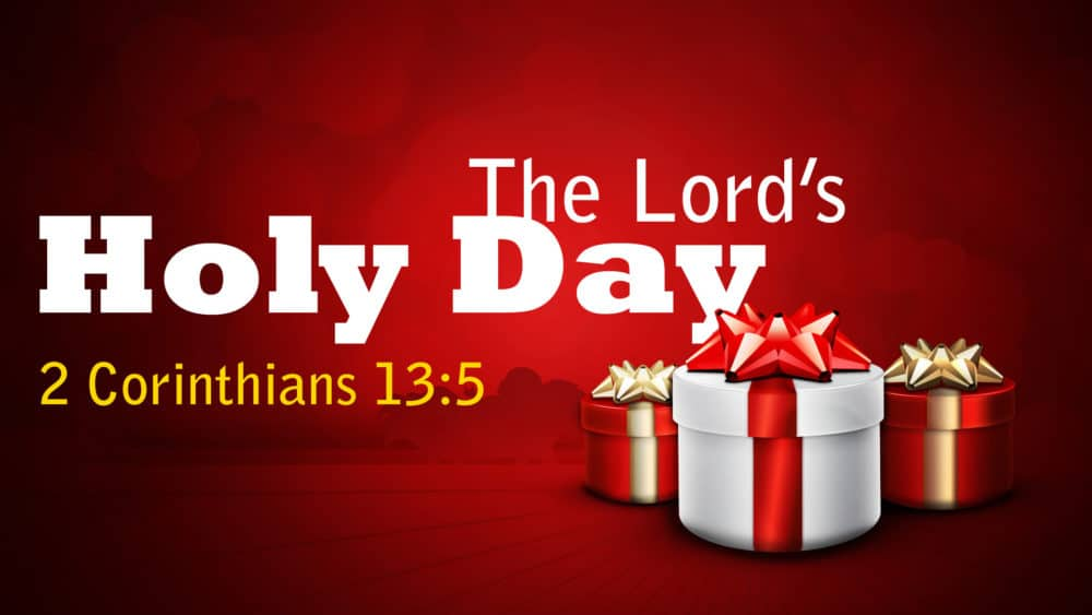 The Lord's Holy Day Image