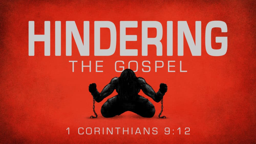 Hindering the Gospel Image