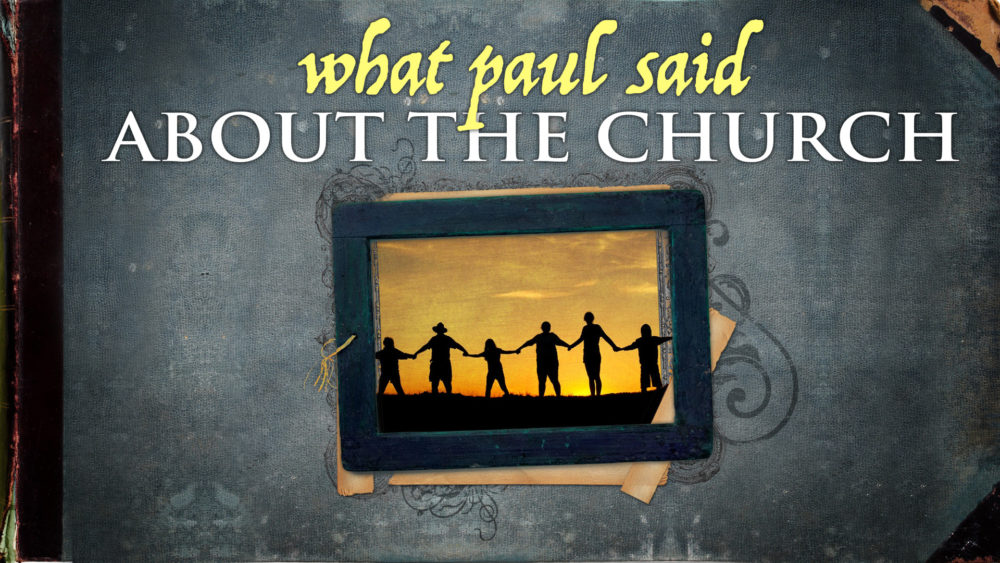 What Paul Said About the Church Image