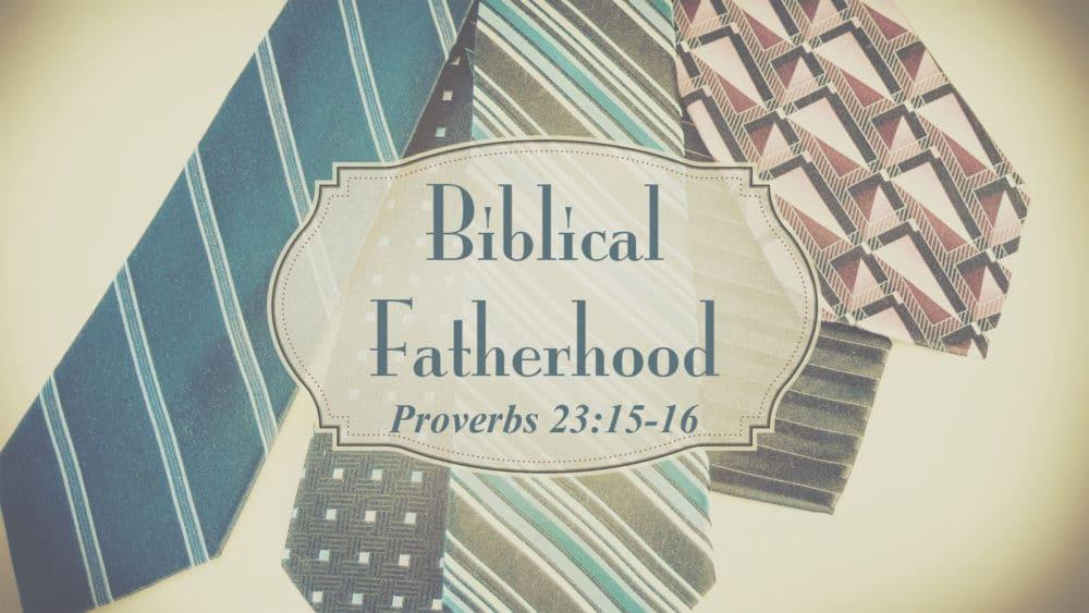 Biblical Fatherhood Image
