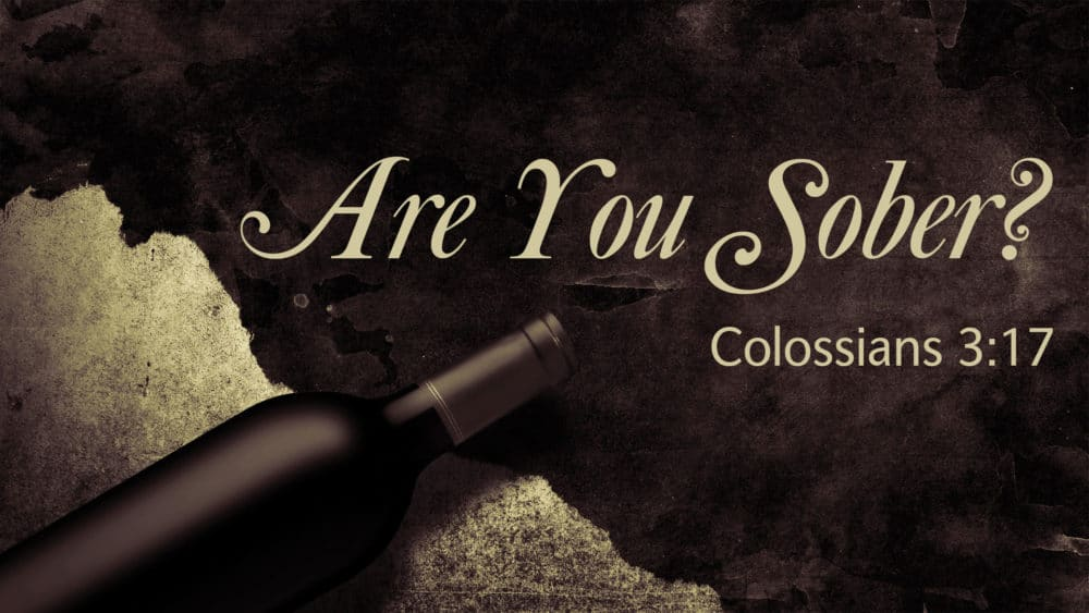 Are You Sober? Image